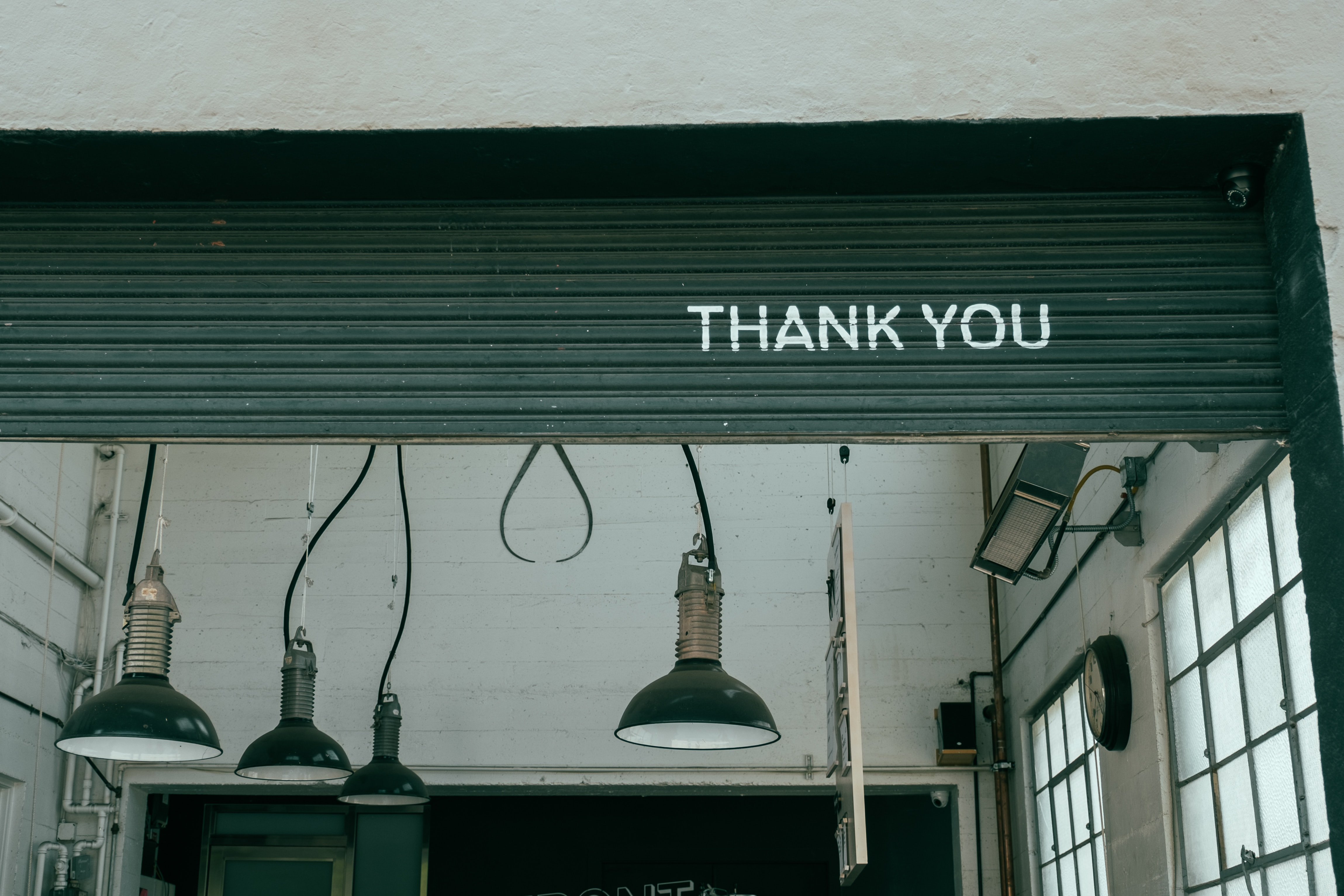 A Quick Thank You to the People Who Keep Things Running
