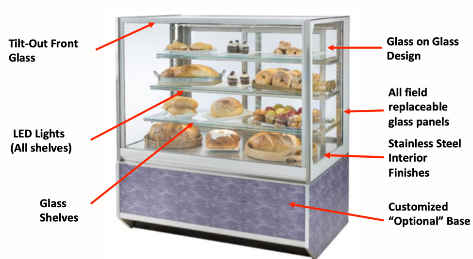 Introducing Federal Italian-Style Foodservice Display Cases