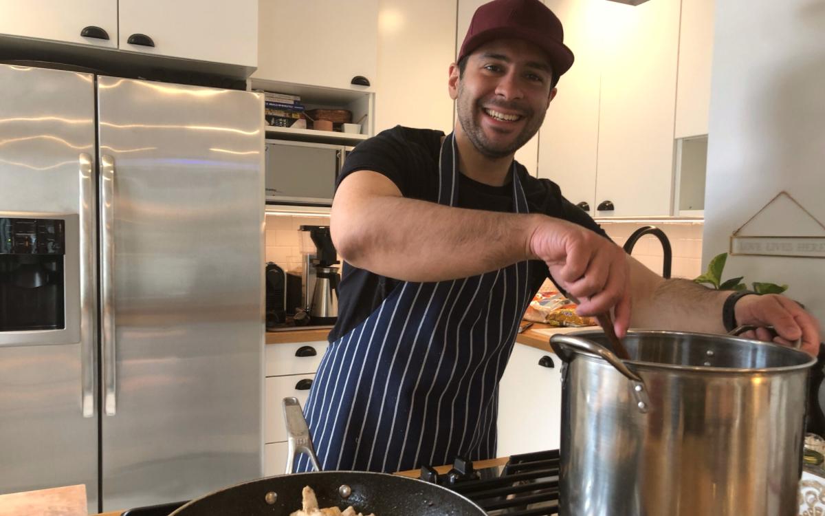 WDC Gabriel Santos Cooking