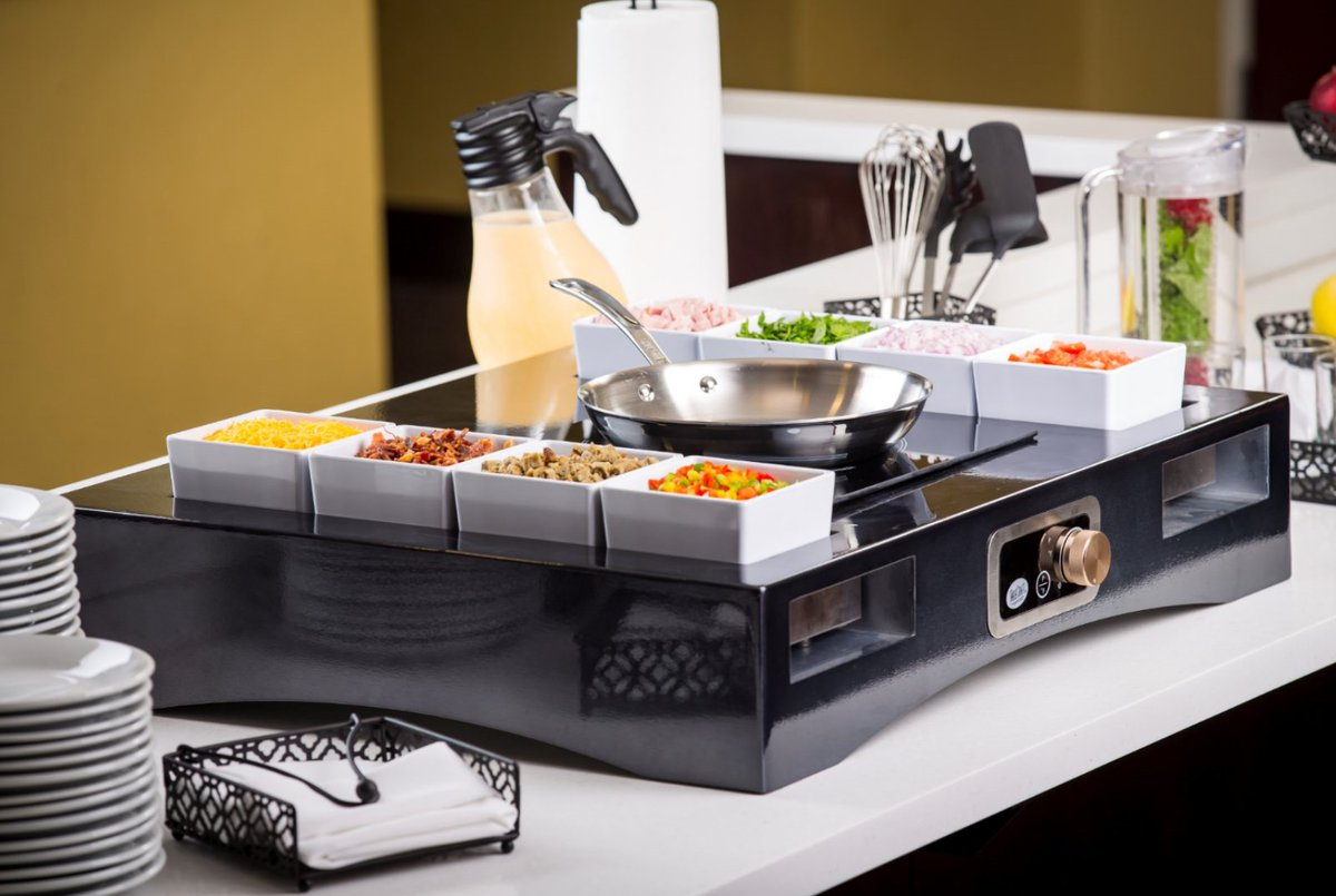Dress Up Your Buffet or Catering Service with an Induction Action Station