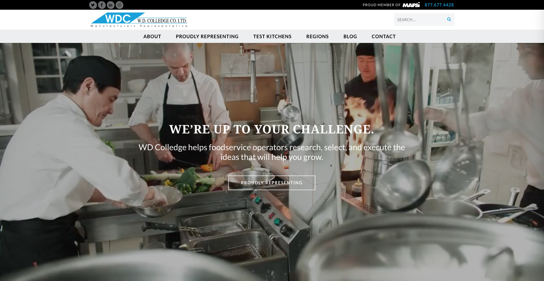 Introducing the New WD Colledge Website