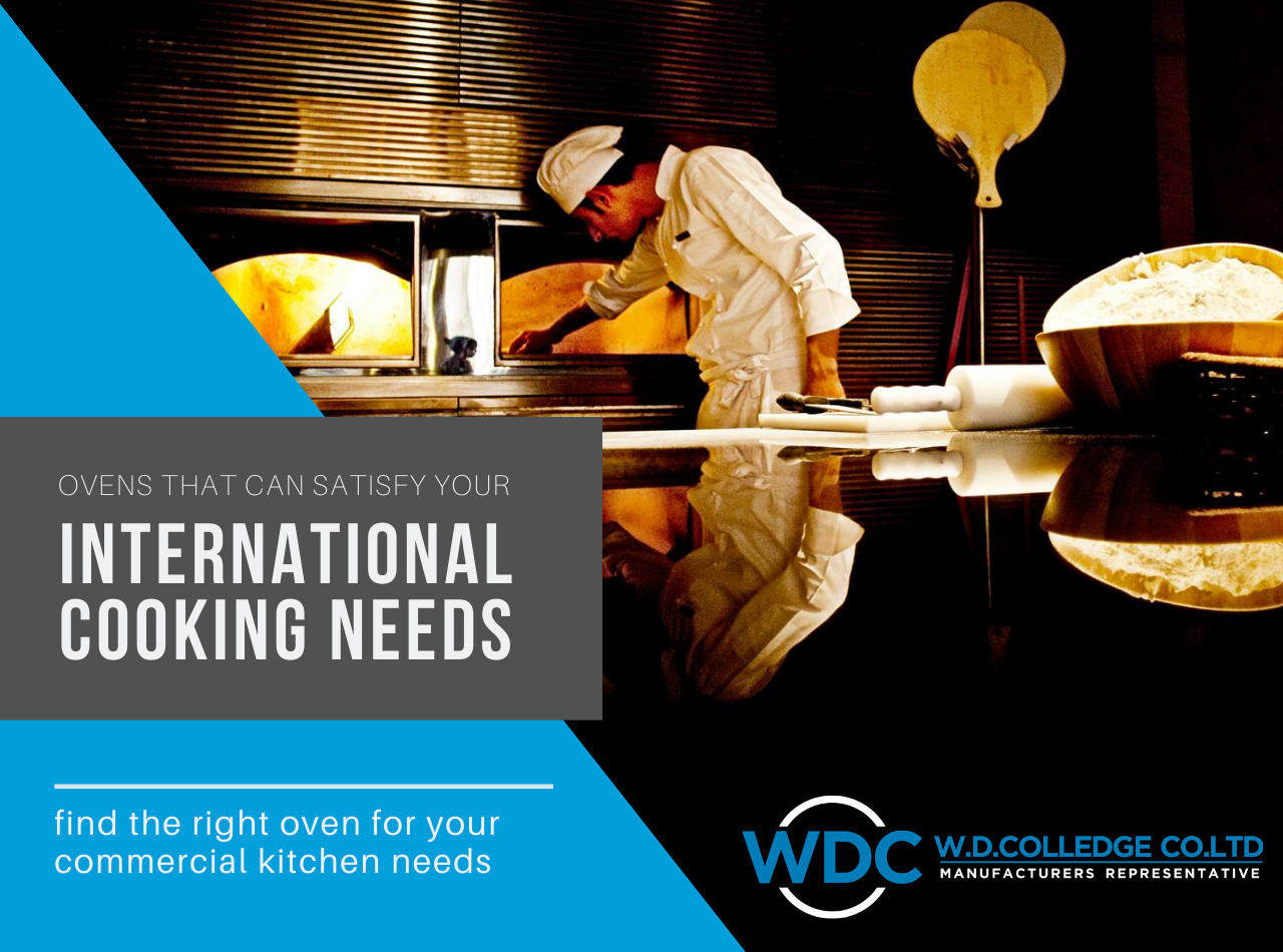 international cooking with beech ovens